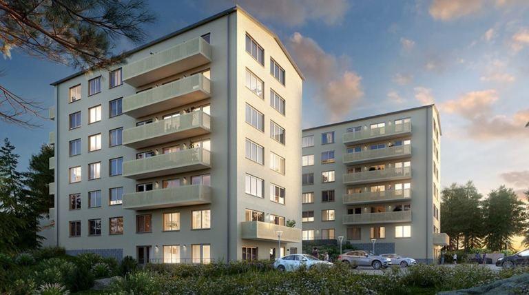 Produktionsstart 25 lägenheter i projektet Vista, Traneberg